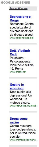 Annunci di Google Adsense
