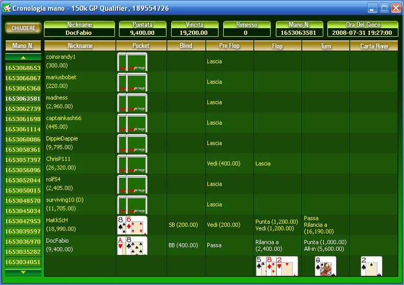 CD Poker - great call