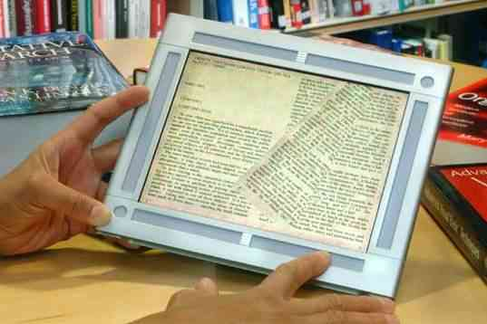 HP e-reader prototype