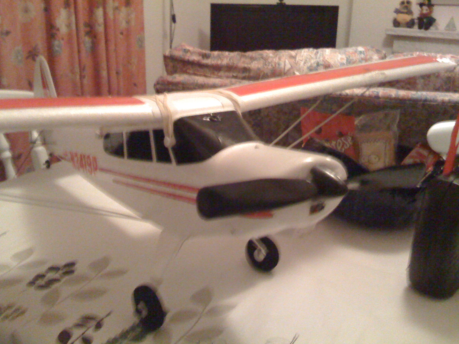 Hobbyone's Super Cub (ugly photo)