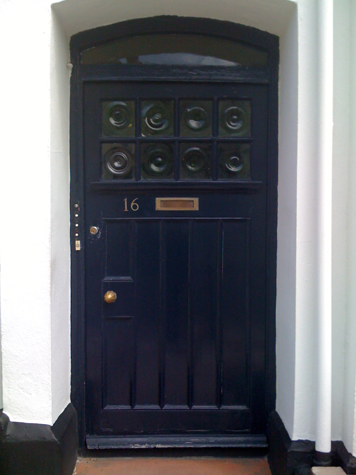 Plymouth, UK - 16 Hill Park Crescent (entrance door)