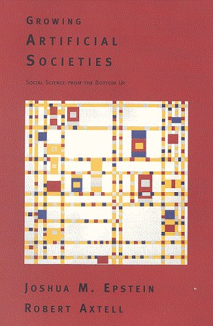 Epstein & Axtell, Growing Artificial Societies (cover)