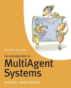 "Michael Wooldridge, ""Introduction to MultiAgent Systems"" (2nd edition) (cover)"