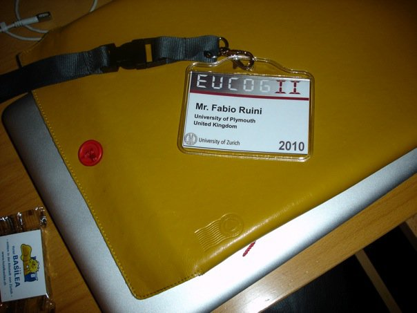Second EUCogII Members Conference - badge