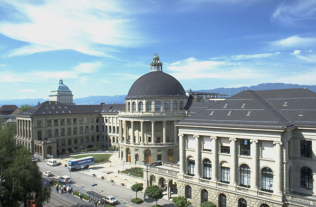 Main building of the ETH Zurich