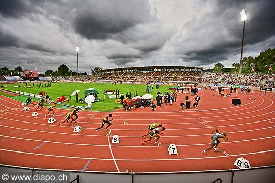 Stade de Lausanne - Athletissima 2007