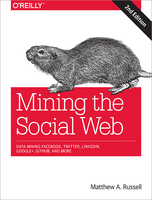 Mining the Social Web (2nd edition, front cover)